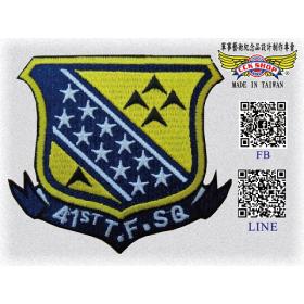 空軍第41作戰隊隊徽臂章